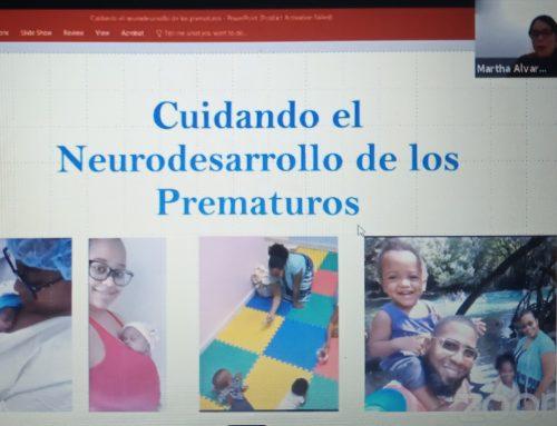 Disertación Cuidando el neurodesarrollo de los prematuros por la lic Martha Álvarez